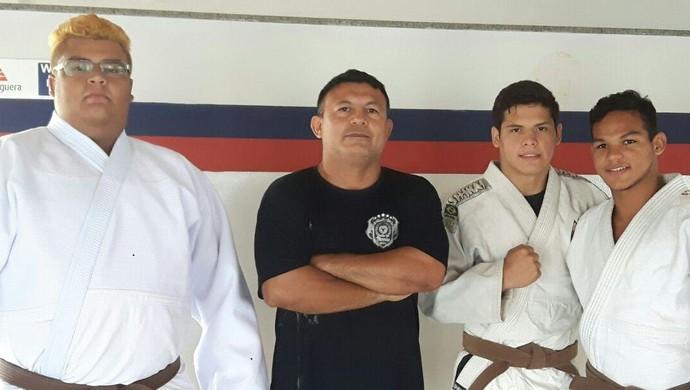 judocas do am (Foto: Mauro Neto/Sejel)
