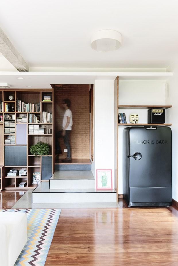 Reforma integra os ambientes nesta casa (Foto: Carol Vargas / divulgação)