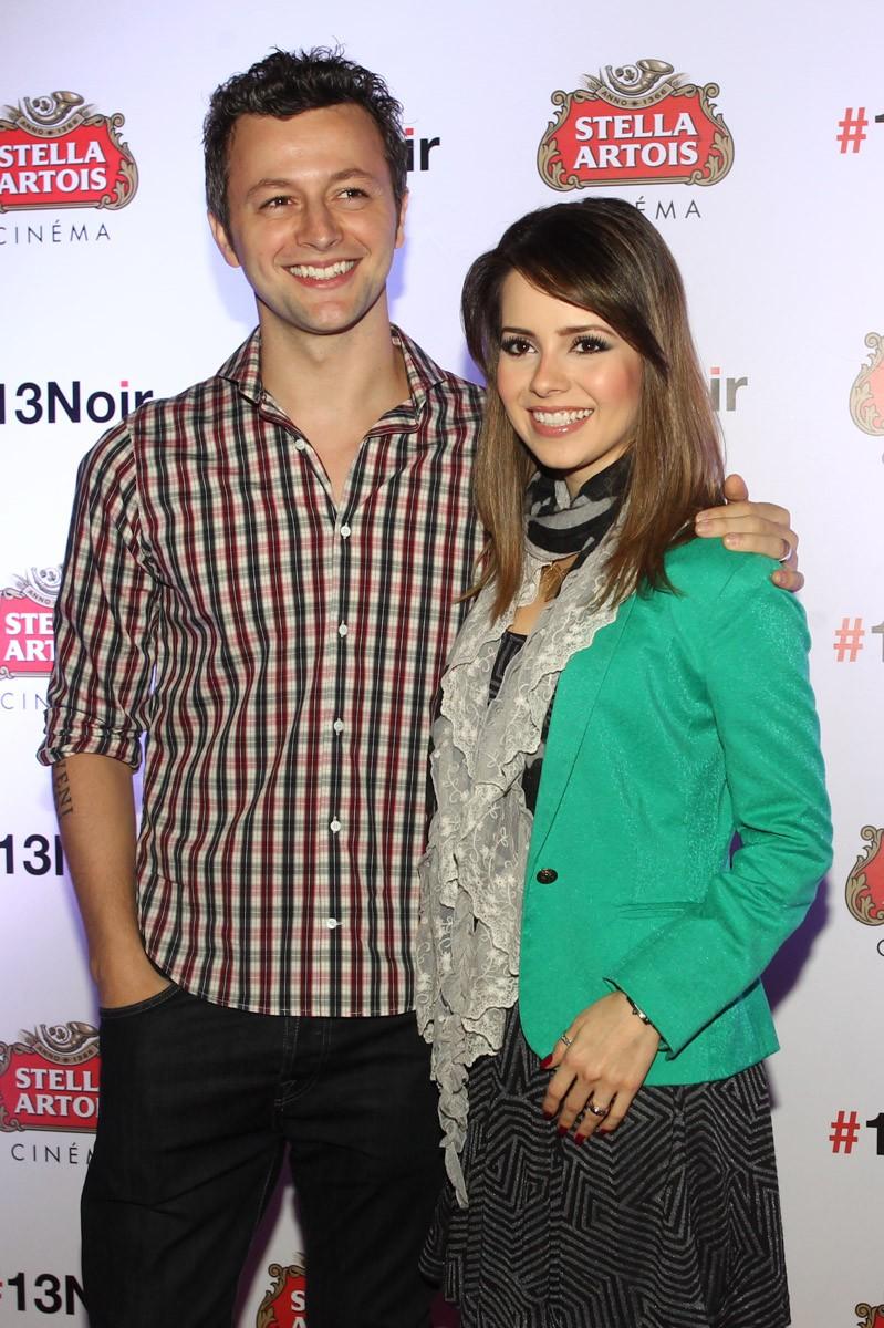 Lucas Lima e Sandy (Foto: Manuela Scarpa/Foto Rio News)