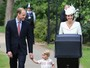 Família real se reúne para batizado de Princesa Charlotte na Inglaterra