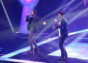 Vitor e Vanuti The Voice Brasil (Foto: Renato Rocha Miranda/ Gshow)