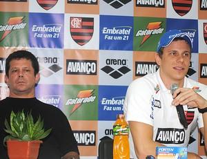Cesar Cielo Albertinho natação projeto Pro 16 (Foto: João Gabriel / Globoesporte.com)