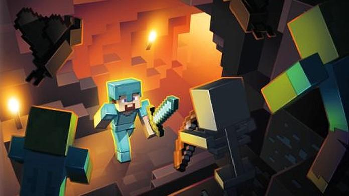 Minecraft chega ao PS Vita com uma perfeita conversão dos consoles (Foto: GameStop)