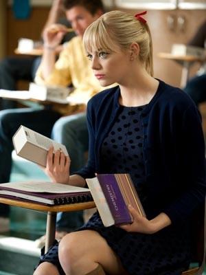 A atriz Emma Stone na pele de Gwen Stacy (Foto: Divulgação)