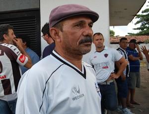 Francisco Bisco, torcedor do Botafogo-PB (Foto: Lucas Barros / Globoesporte.com/pb)