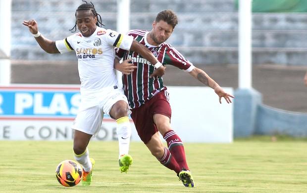 Rafael Sobis e Arouca jogo Santos x Fluminense (Foto: Nelson Perez / Site Oficial do Fluminense)