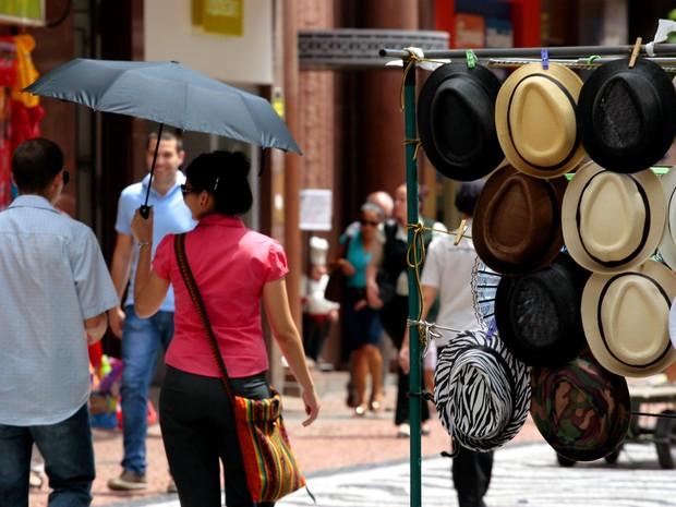 Altas temperaturas continuarão sendo registradas nos próximos dias em Porto Alegre (Foto:  Joel Vargas,divulgação/PMPA)