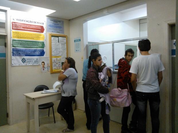 Hospital Doutor Padre Réus não tem UTI Neonatal (Foto: Ivani Schutz/ RBS TV)