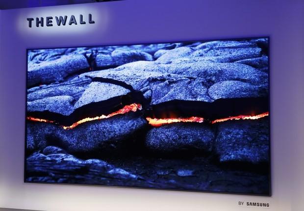 The Wall, TV com tela de 146 polegadas da Samsung (Foto: Divulgação / Samsung)