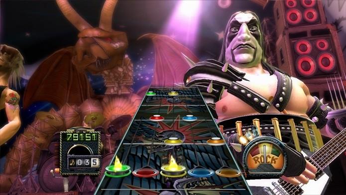 Com duelos e ótima trilha, Guitar Hero 3 é visto como um dos melhores da série (Foto: Divulgação/Activision)