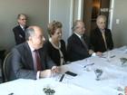 Dilma Rousseff visita centros de inovação na Califórnia