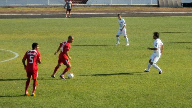 Lance de Noroeste 0 x 0 América Copa Paulista (Foto: Thiago Navarro/EC Noroeste)