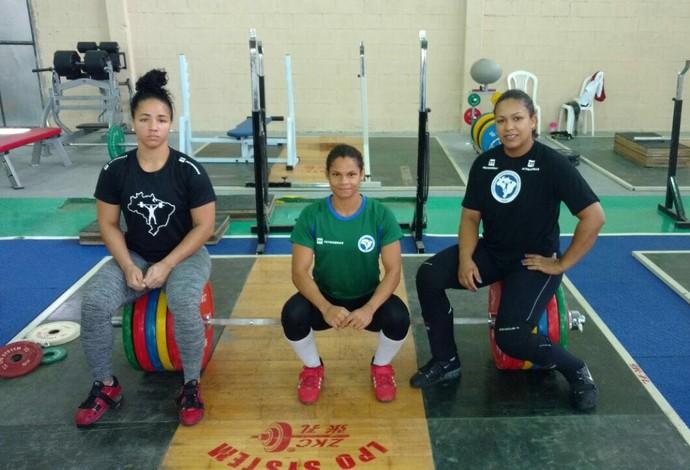 Seleção feminina levantamento de peso (Foto: Divulgação)