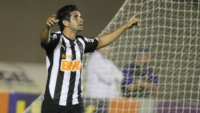 Guilherme gol Atlético-MG (Foto: André Costa / Ag. Estado)