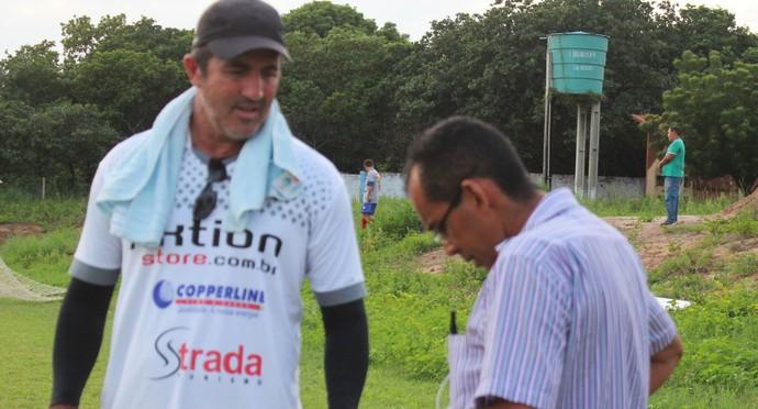 Paulo Moroni e Jacob Júnior (Foto: Emanuele Madeira/GloboEsporte.com)
