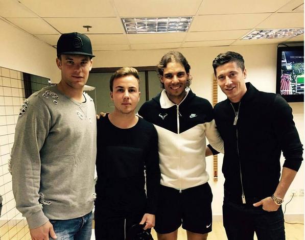 Neuer Nadal Bayern (Foto: Reprodução/Twitter)