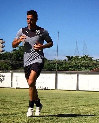 Juan Salgueiro, Botafogo (Foto: Divulgação / Instagram do Botafogo)