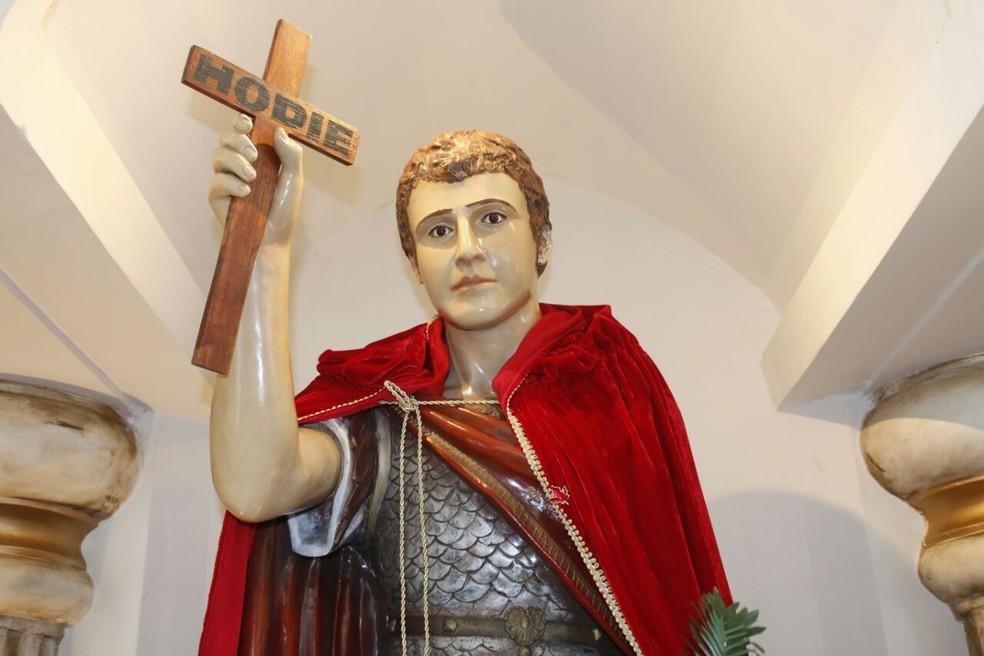 Santo Expedito é o padroeiro das causas justas e urgentes (Foto: Pascom/Santuário de Santo Expedito/Divulgação)
