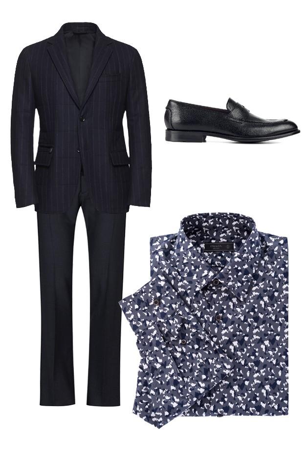 Blazer Ermenegildo Zegna (R$ 11.445), calça Ricardo Almeida (R$ 1.358), sapato Hugo Boss (sob consulta), camisa Prada (R$ 2.720) (Foto: Divulgação)