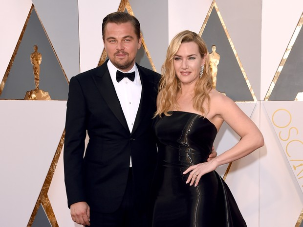 Kate Winslet e Leonardo DiCaprio (Foto: Getty)