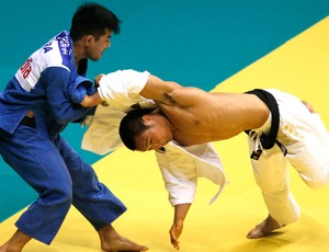 Chibana Ebinuma Mundial Judo (Foto: Agencia Reuters)