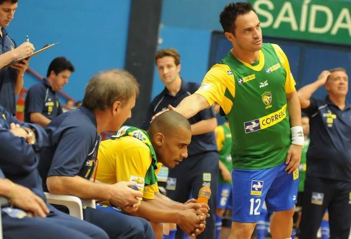 Falcão Brasil Colômbia Copa Intercontinental Futsal (Foto: Luciano Bergamaschi/CBFS)