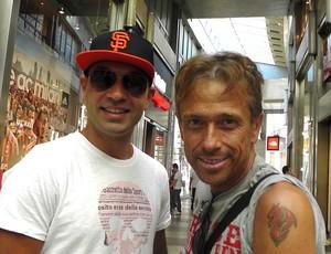 amigos Marco di Lernia e Nico Alba, kaka (Foto: Claudia Garcia)