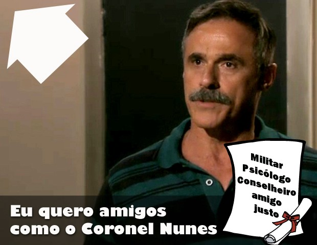 Nunes, o conselheiro (Foto: Salve Jorge / TV Globo)