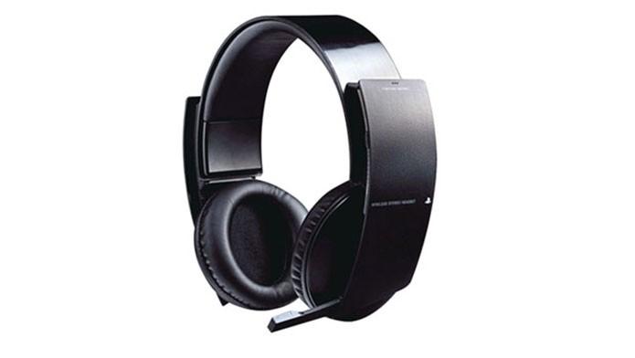O primeiro headset Pulse do PS4 (Foto: Divulgação/Sony)