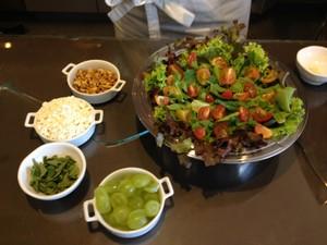 Salada Mediterrânea - Ceia de Natal  (Foto: Natália Normande/G1)