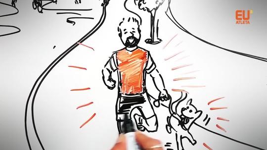 Rumo ao Ápice: Rafael vira desenho e tem a vida contada em 90 segundos