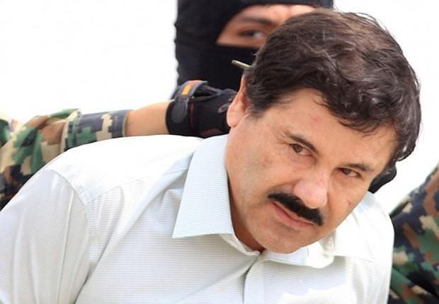 """O traficante mexicano Joaquín Guzmán, mais conhecido como """"El Chapo"""", chegou a ser preso em fevereiro de 2014, mas escapou em setembro, antes de ser recapturado (Foto: Mario Guzmán/EPA/Getty Images)"""