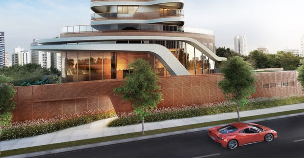 Designer da Ferrari projeta em SP (Foto: Divulgação)