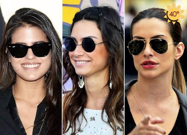 Óculos das Famosas - Antonia Morais, Thaila Ayala e Cléo Pires (Foto: Agnews - Andre Muzell / AgNews - Henrique Oliveira / Agnews)