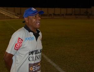 Mirandinha, técnico do Lucena-PB (Foto: Silas Batista / GloboEsporte.com/pb)