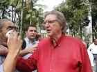Sérgio Reis passa por cateterismo: 'Tirou com a mão', diz mulher