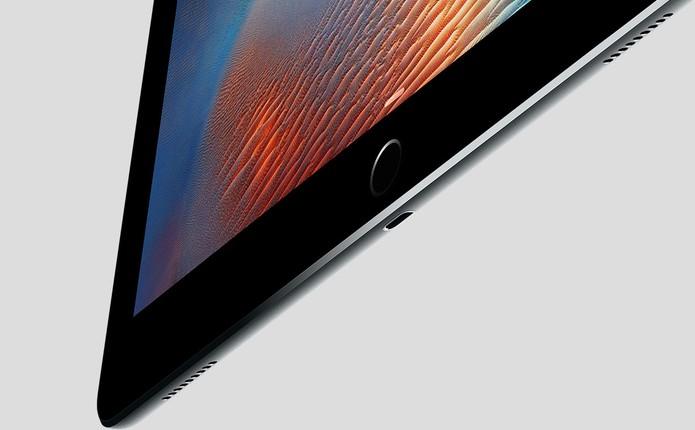Touch ID iPad Pro (Foto: Divulgação/Apple)