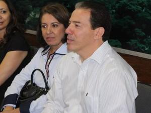 Ruy Muniz falou também sobre a blitz da saúde realizada na cidade. (Foto: Valdivan Veloso / G1)