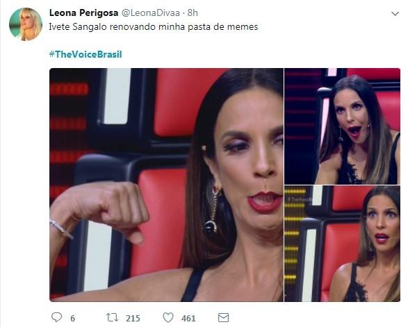 Internauta comenta a estreia do 'The voice' (Foto: Reprodução / Twitter)