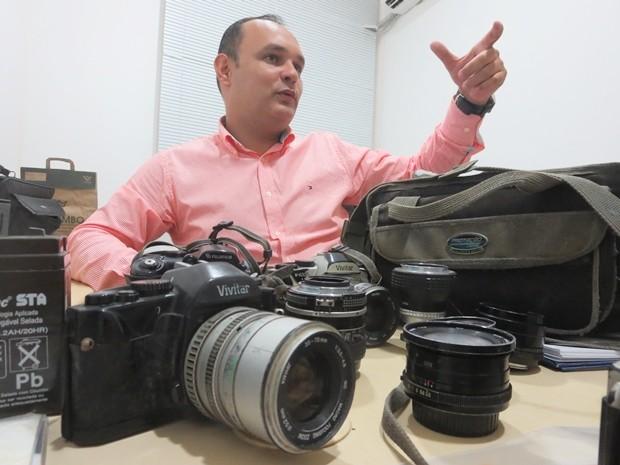 Tiago Tadeu, chefe de gabinete do Itep (Foto: Andrea Tavares/G1)