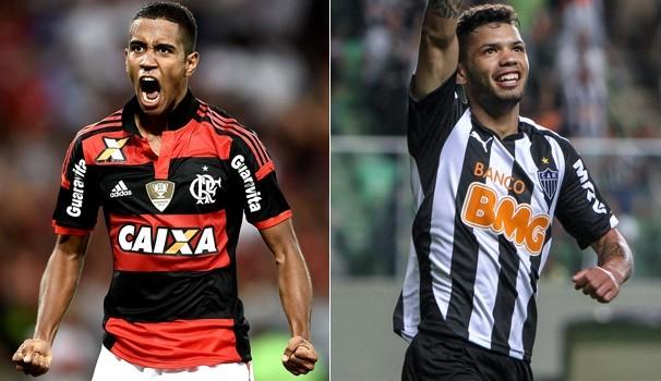 Flamengo e Atlético-MG se enfrentam pela Copa do Brasil (Foto: Reprodução Globoesporte)