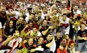 Basquete nbb Flamengo e Uberlândia final campeão (Foto: André Durão / Globoesporte.com)