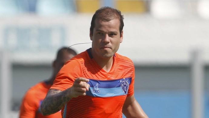 Tiago Luís ainda é duvida no time do Paysandu que enfrenta o Brasil-RS (Foto: Akira Onuma/O Liberal)