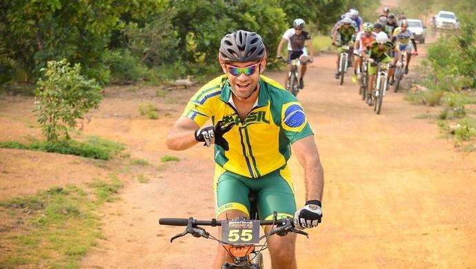 O ciclista aderiu ao esporte após a formatura em Educação Física (Foto: Rhauan Medeiros/Arquivo pessoal)