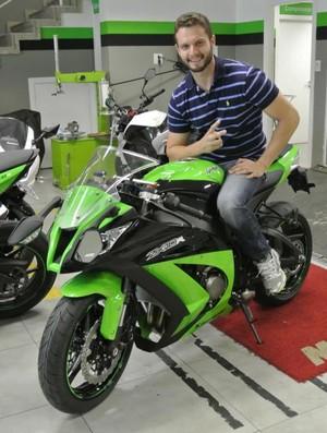 Tiago Pavanelli Moto GP 1 (Foto: Arquivo Pessoal)