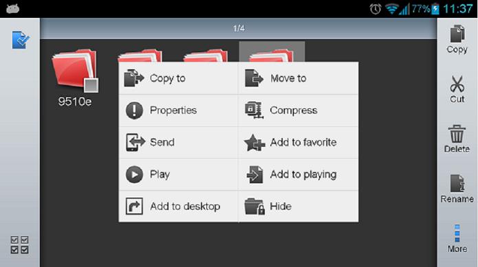 ES File Explorer File Manager é um gerenciador de arquivos (Foto: Divulgação)