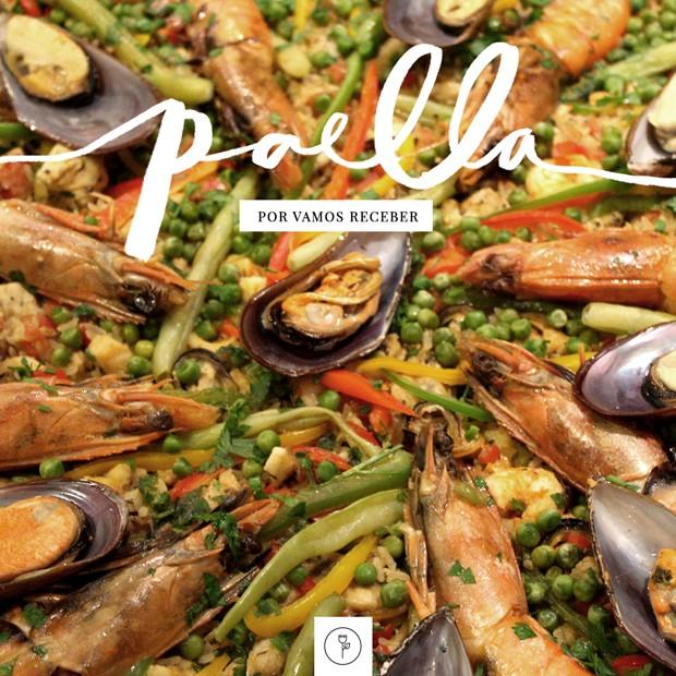 Vamos Receber: paella (Foto: Karen Hofstetter)