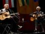 Caetano Veloso e Gilberto Gil tocam inédita em São Paulo; ouça trecho