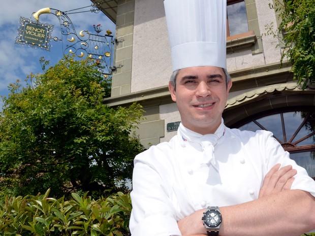 Chef franco-suíço Benoît Violier, chef do restaurante de l'Hôtel de Ville, em Crissier, perto Lausanne, na Suíça, foi encontrado morto (Foto: Marcel Gillieron / AFP)