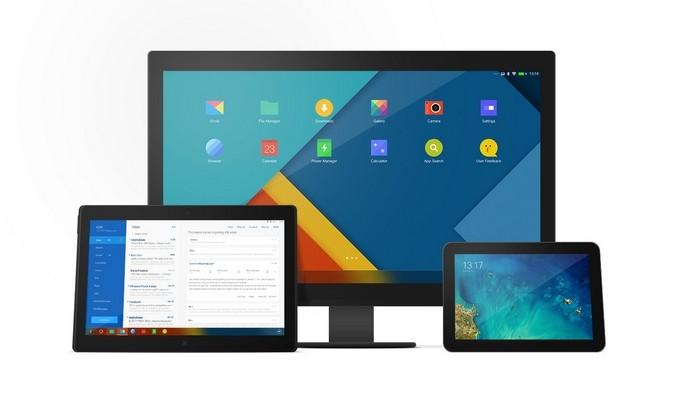 Remix OS, sistema operacional do Remix Mini, é baseado no Android (Foto: Divulgação/Jide)
